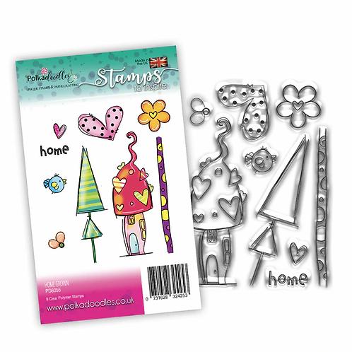 Home Grown Stamp Set by Polkadoodles®