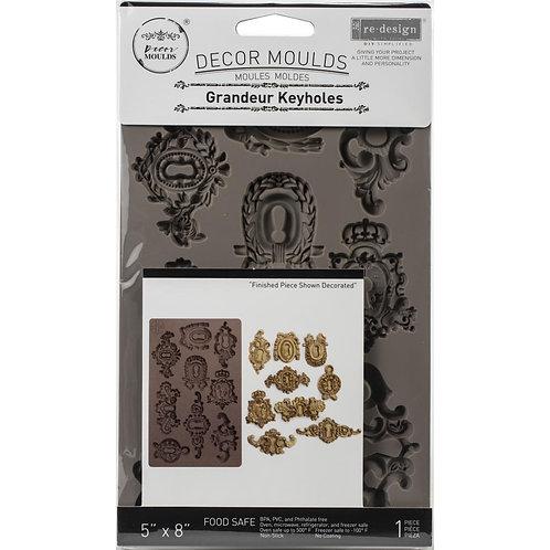 "Prima Marketing Re-Design Mould 5""X8""X8mm - Grandeur Keyholes"