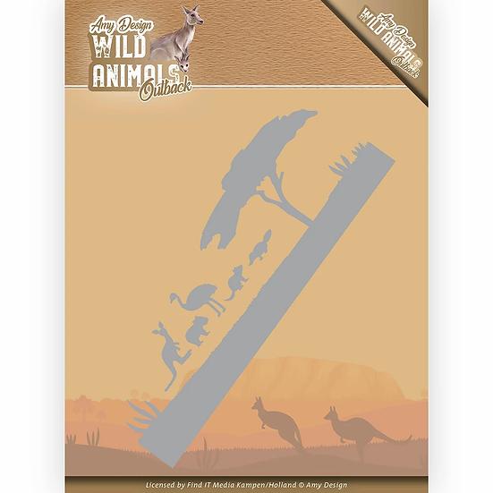 Amy Design® Wild Animals Outback - Landscape - Die