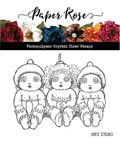 Paper Rose  - Snugglepot & Cuddlepie Clear Stamp