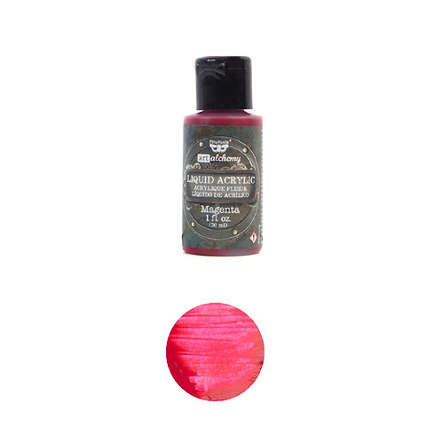 Art Alchemy – Liquid Acrylics – Magenta –  30ml