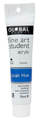 Global fine art student acrylic 75ml - Cobalt Hue