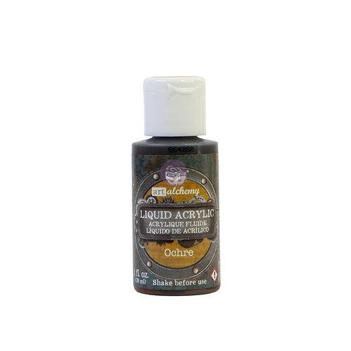 Art Alchemy – Liquid Acrylics – Ochre –  30ml