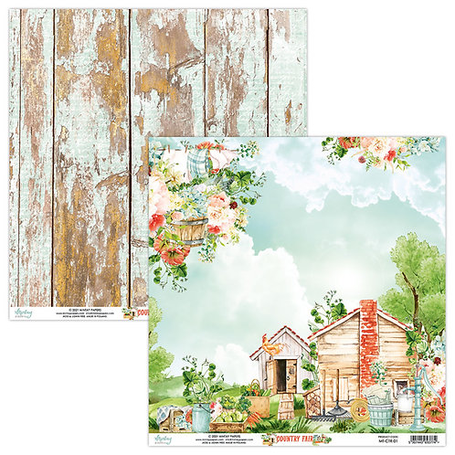Country Fair - 01 - 12 x 12  -  Paper by Mintay Papers