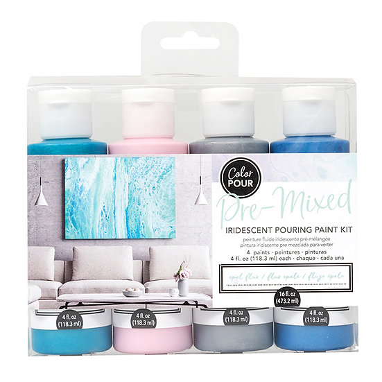 American Crafts Color Pour Kit - Opal Flux