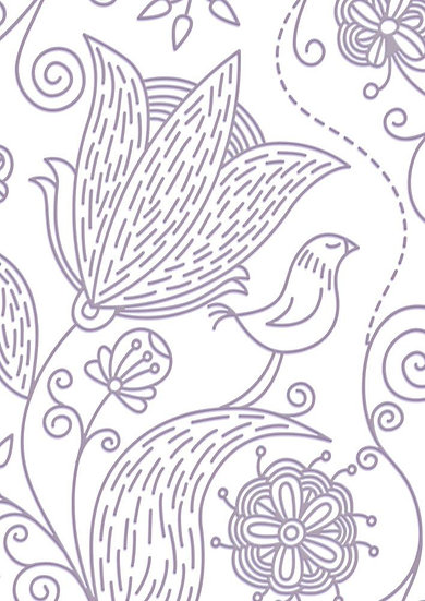 Couture Creations Embossing Folder - My Garden