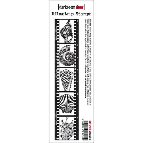 Darkroom Door® Filmstrip Stamp - Seashells