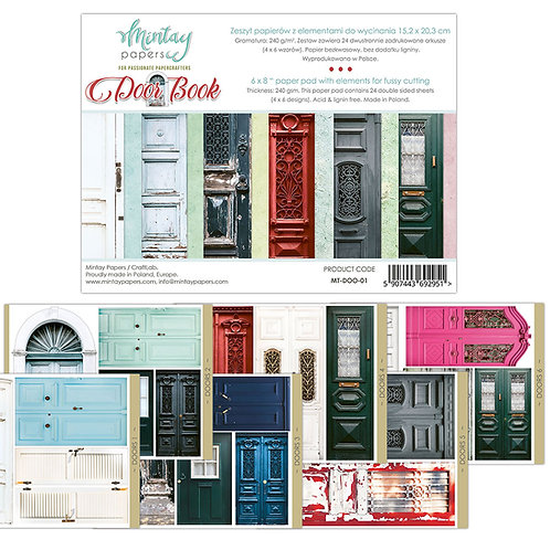 Door Book by Mintay Papers 6 x 8
