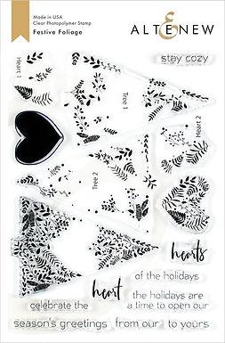 Altenew® Festive Foliage Stamp Set