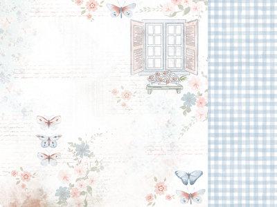 Kaisercraft® Flower Shoppe 12x12 Scrapbook Paper - Sunroom