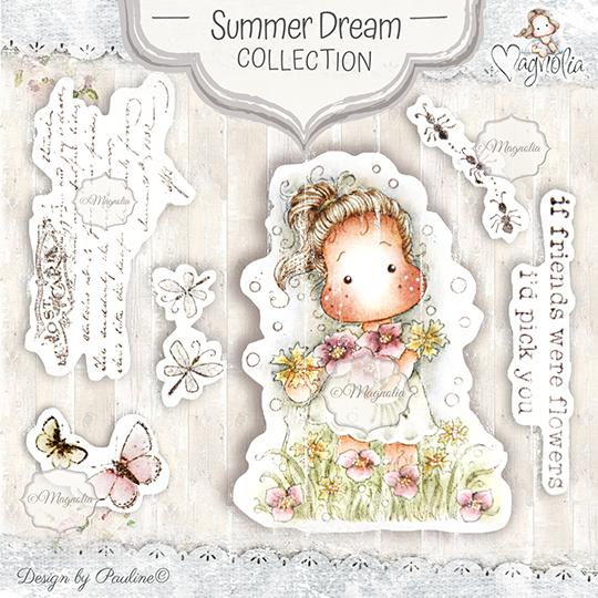 Magnolia® Summer Dream Art Stamp Set