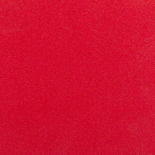 A4 Glitter Cardstock - Bright Red 10 Sheets