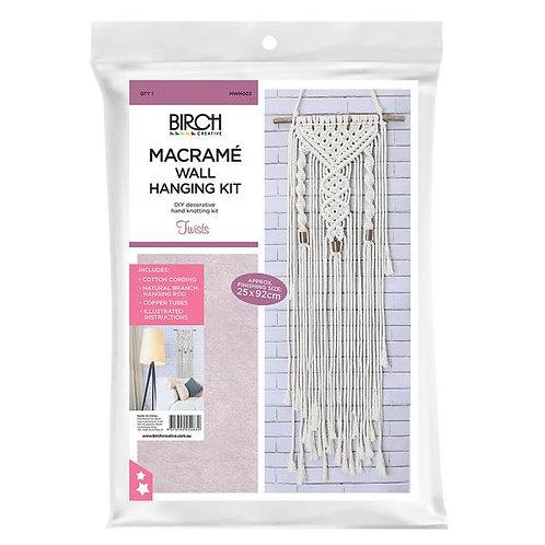 Birch Macrame Kit - Twists