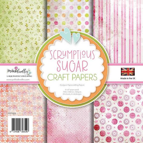 Polkadoodles® Scrumptious Sugar Paper Pack