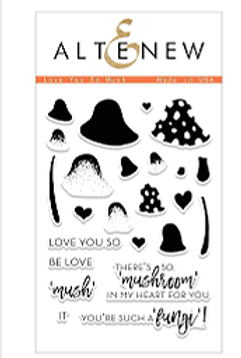 Altenew® Love you so mush Stamps