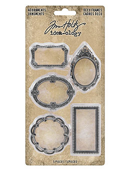 Tim Holtz® Idea-ology Findings - Adornments Deco Frames