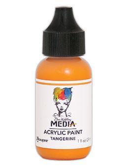 Dina Wakley® Media Acrylic Paint 1oz - Tangerine
