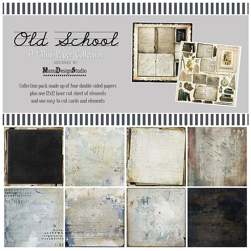 49 and Market®  Old School Collection 12 x 12