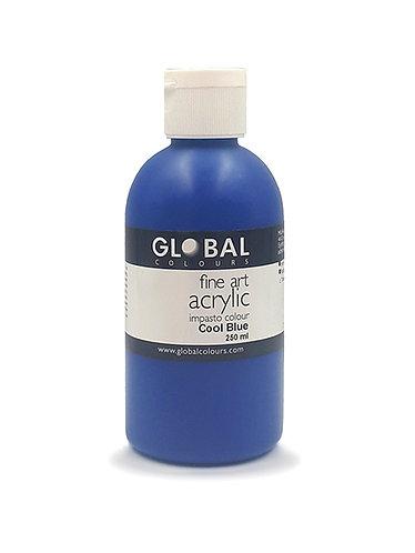 Global Artist Acrylic - Cool Blue - 250ml