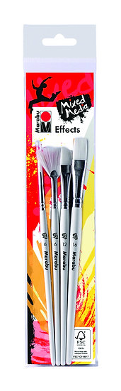 Marabu Effects Brush Set of 4