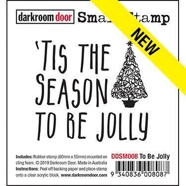 Darkroom Door Small Stamp - To Be Jolly