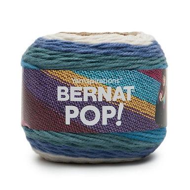 Bernat Pop! 140g Wool - Bark and Blue