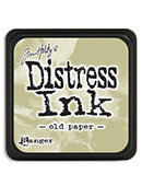Tim Holtz® Mini Distress Ink Pad - old paper