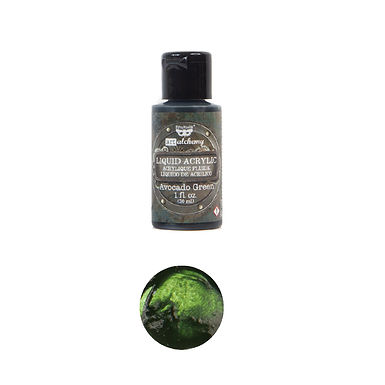 Art Alchemy – Liquid Acrylics – Avocado Green –  30ml