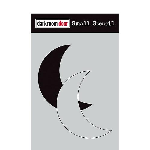 Darkroom Door® Small Stencil - Moon Set