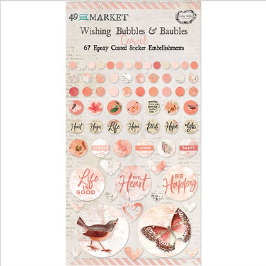 49 and Market® Wishing Bubbles & Baubles - Coral