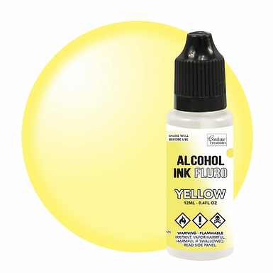 Couture Creations Alcohol Ink Fluro - Yellow