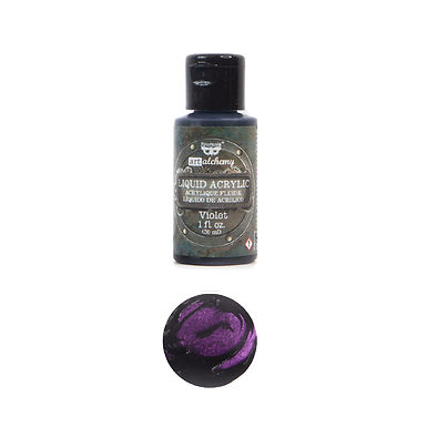 Art Alchemy – Liquid Acrylics – Violet –  30ml