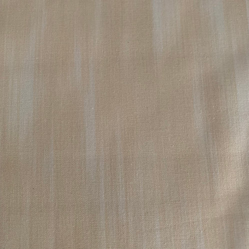 Bisque Fleurish Fabric - Sold by metre - Bisque coloured