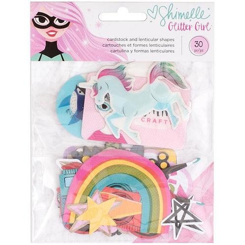 Shimelle® Ephemera - Glitter Girl