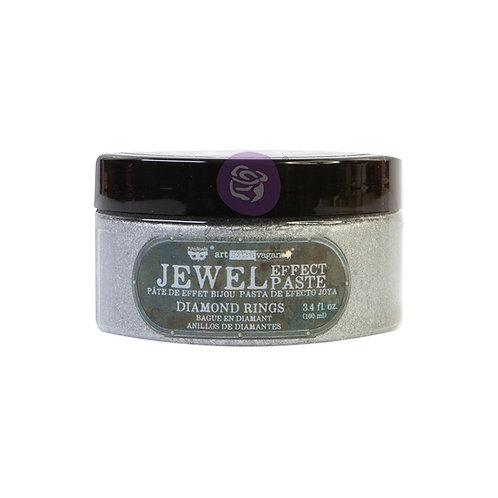 Finnabair Art Extravagance Jewel Texture Paste 100ml Jar - Diamond Rings