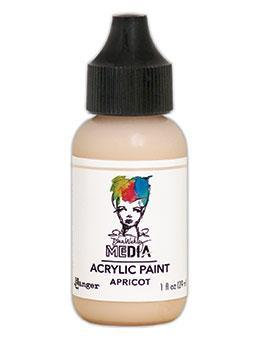 Dina Wakley® Media Acrylic Paint 1oz - Apricot