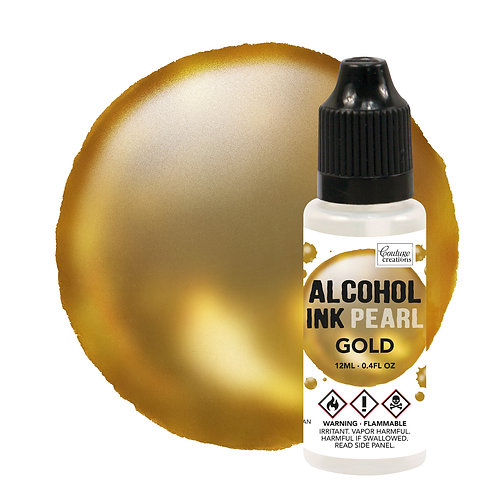 Couture Creations Alcohol Ink Pearl - Gold