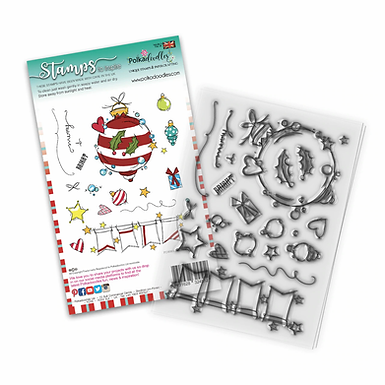 Baubles & Banners Christmas by Polkadoodles®