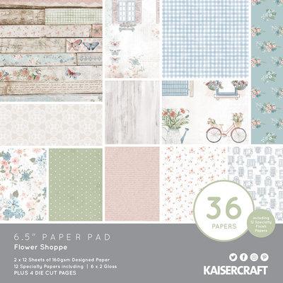 Kaisercraft® Flower Shoppe 6.5 Paper Pad
