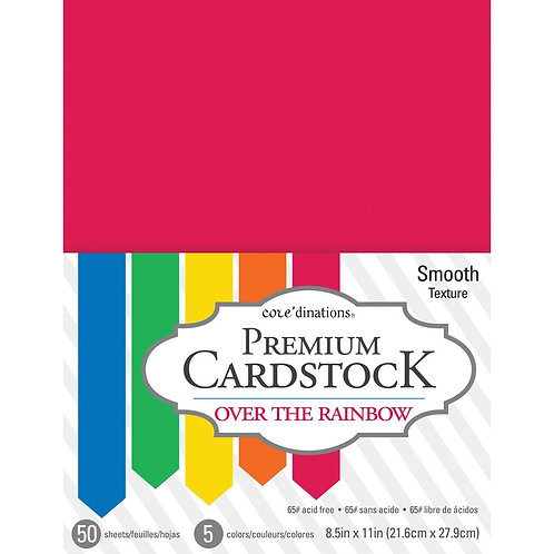 core'dinations® Premium Smooth Cardstock - Over The Rainbow