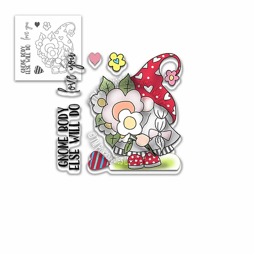 Gnome Body Else Will Do Stamp Set by Polkadoodles