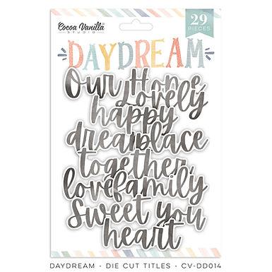 Cocoa Vanilla® Daydream - Die Cut Titles