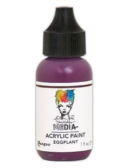 Dina Wakley® Media Acrylic Paint 1oz - Eggplant