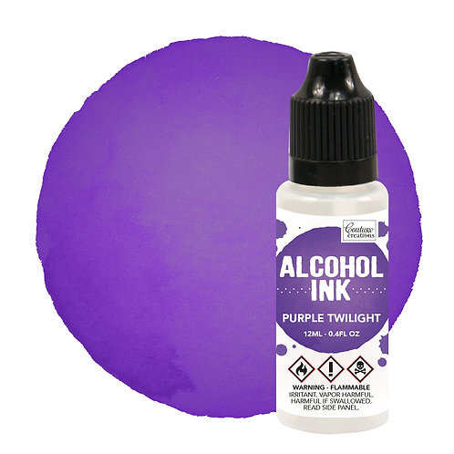 Couture Creations Alcohol Ink - Purple Twilight