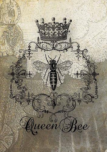 Decoupage Queen® Decoupage Paper -Bee Heirlooms