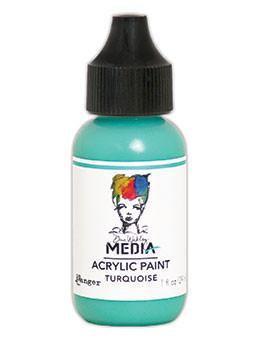 Dina Wakley® Media Acrylic Paint 1oz - Turquoise