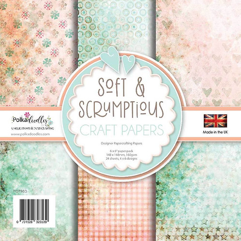 Polkadoodles® Soft & Scrumptious Paper Pack