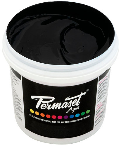 Permaset Aqua - 300ml - Jet Black