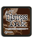 Tim Holtz® Mini Distress Ink Pad - ground espresso
