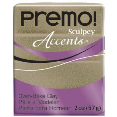 Premo Sculpey Accents - Yellow Gold Glitter